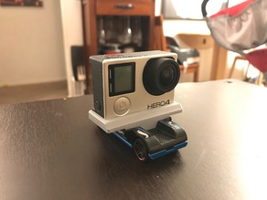 Hot Wheels GoPro Car to GoPro 3 & 4 Adapter