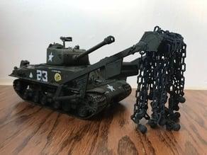 """WW2 Tank Minesweeper """"Sherman Crab"""""""