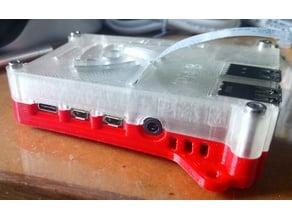 Raspberry Pi 4b Case and 25mm Fan Lid