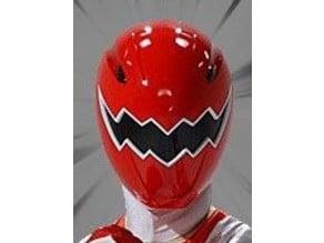 Red Dino Thunder Ranger Helmet