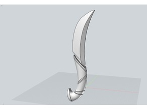Pugnale coltello elfico Cosplay dagger