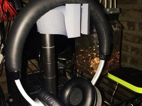 Wire Shelf Headphone hook