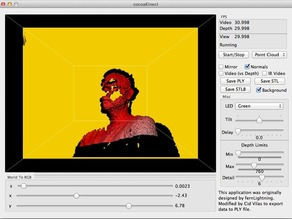 Kinect Application For OS X