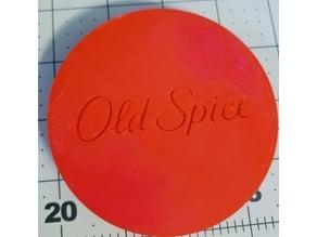 Old Spice Shaving Mug lid