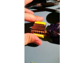 C Series Padlock Cylinder Clip