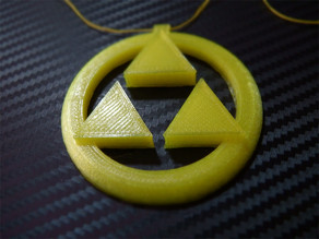 Triforce Medalion - Zelda Ocarina Of Time