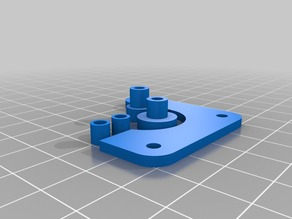 Tiny Flex Extruder Bowden Variant