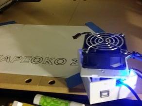 Shapeoko 2 G-Shield Enclosure- Modified for Makerbot Mini
