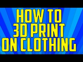 "SPAM! Logo from ""How To 3D Print on Clothing"" Episode"
