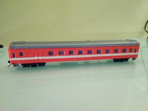 Modification of Russian passanger coach H0 scale (1:87)
