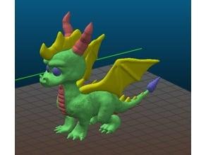 Spyro Action Figure Dual + Multi