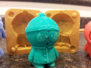Mold for Stan from Southpark
