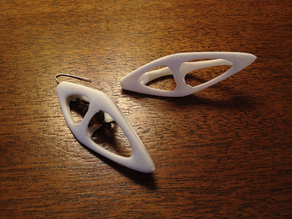 Tetrahedral Earrings