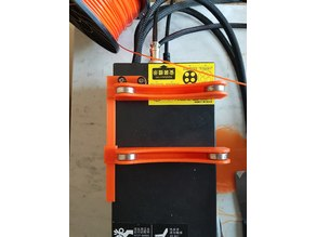 Adjustable rail for TUSH Spool Holder CR-10