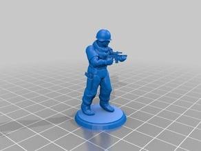 Modern Soldier - Machine Pistol