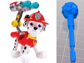 Water projectile for Paw Patrol Jumbo Action Pup Marshall
