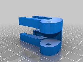 Anet A8 Y-Axis Tensioner with wider belt section