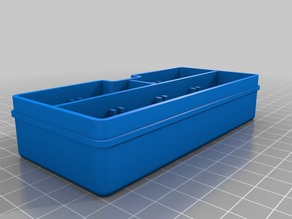Storage Box /w Dividers and No Lid