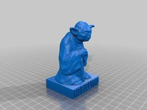 Yoda No Bullying Figurine