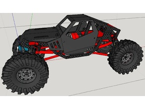 rock crawler from wltoys A959 part