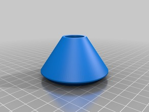 Modified locking cone for Universal stand-alone filament spool holder