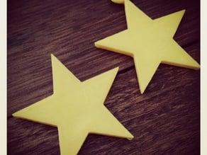 Christmas Stars , a pair