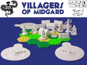 Pocket-Tactics: Villagers of Midgard (Second Edition)