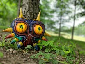 Majora's Mask (full size) with wall mount
