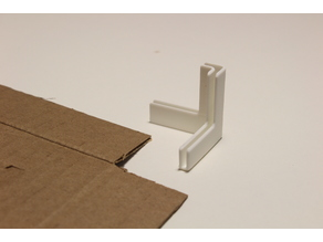 Cardboard Box Corner Joint