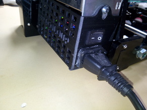 La couverture d'alimentation, interrupteur pour les imprimantes Anet A8 Prusa I3