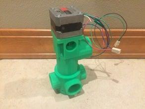 4 Way Wet Diverter for Aquaponics or Hydroponics