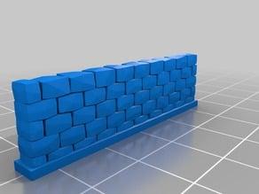 My Customized Stone Wall