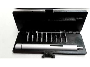 Case for Wowstick electric screwdriver and 18 piece bit set