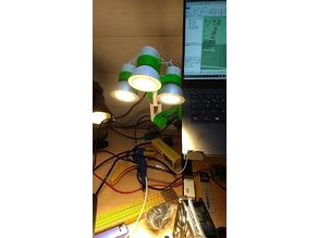 Articulating Lamp: 45-degree Arm Remix and more light