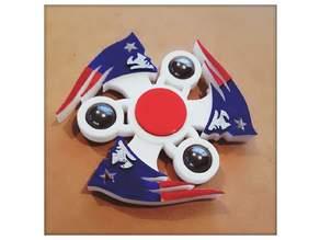 Patriots Fidget Spinner - Wingnut2k