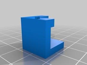 Glass Bed Corner brackets for Flashforge Creator Pro