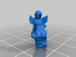 Fairy garden ornament photogrammetry scan