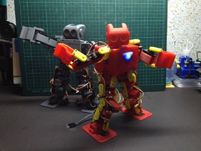 The MiniPlan v5.0 Iron Man Style and Assembly Instruction