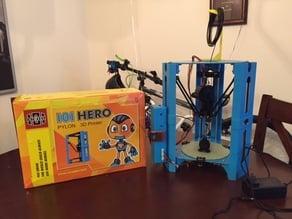 01Hero Pylon 3D Printer Small Spool Roll Stand