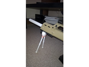 airsoft bipod (foldable)