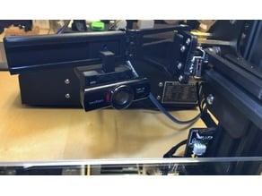 CR-10 Z-Axis Camera Mount for Creative USB webcam