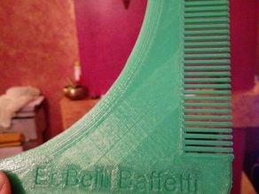 Comb Beard ( inspired on groomarang ) - Er belli baffetti