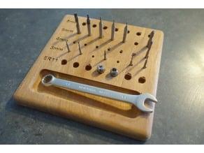 CNC Bits / Tools Holder