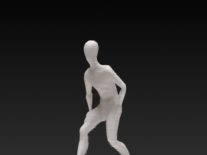 Standing man statue