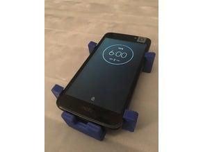 Moto E4 Phone Mount. Beefed Design.
