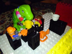 Duplo Furniture with nubs