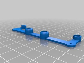 FPV camera support for KitCopter Urraca FE