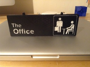 """The Office"" Sign"