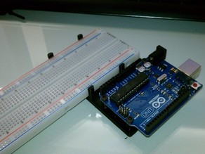 Arduino Uno + Breadboard Mount