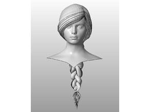 Makehuman bust female